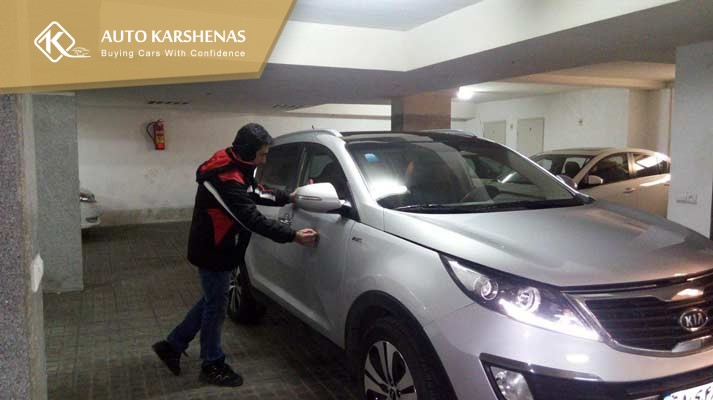 کارشناسی خودرو کیا اسپورتیج 2014 اتو کارشناس