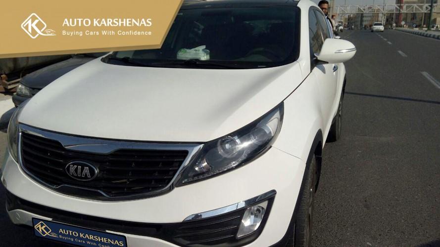 کارشناسی خودرو کیا اسپورتیج 2015 توسط اتو کارشناس